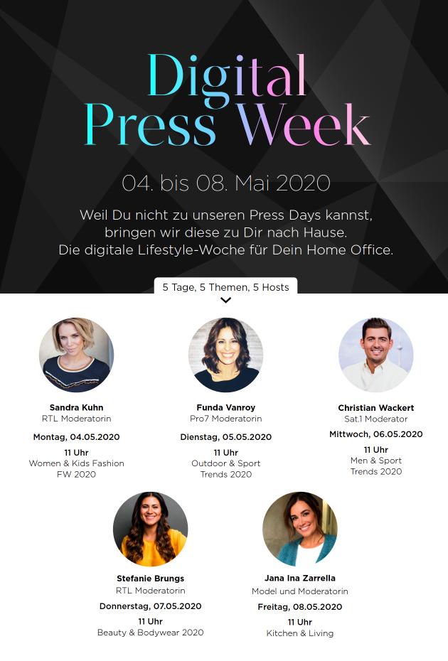 News Digital Press Week 2020 Foto